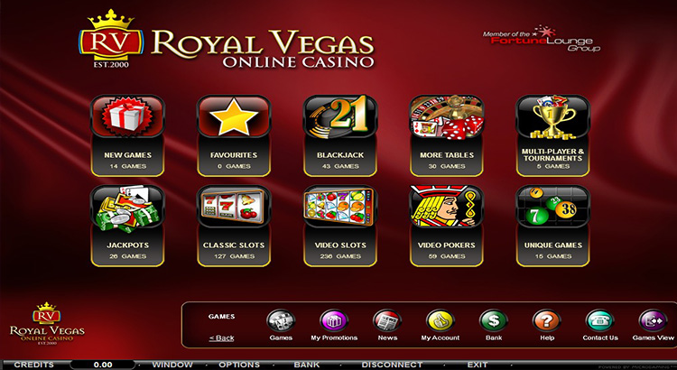 Royal Vegas Flash